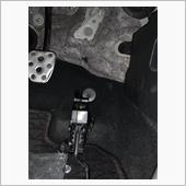 アクセルスペーサー取付の画像