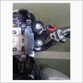 ヘルメットホルダー移設