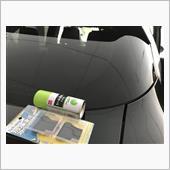 低排出ガス車ステッカー剥がしの画像