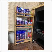 スプレー缶収納棚