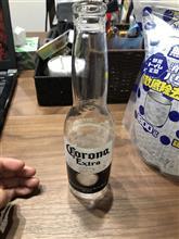 コロナビール空瓶で消臭剤