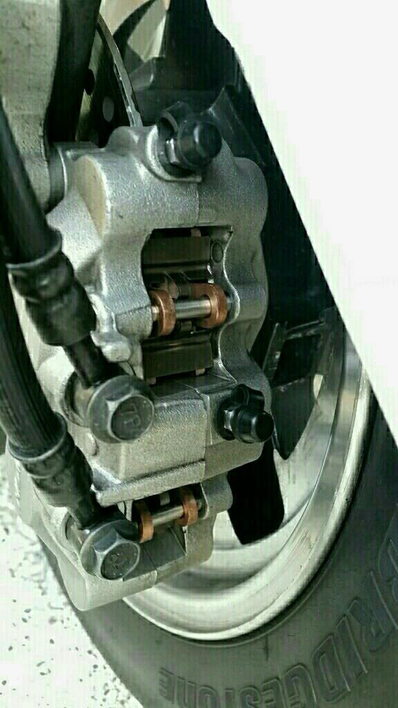 タイヤ交換前に換えておくか!45,292㎞