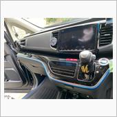 車内を青くするの巻の画像