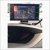 レーダー探知機取り付けの画像