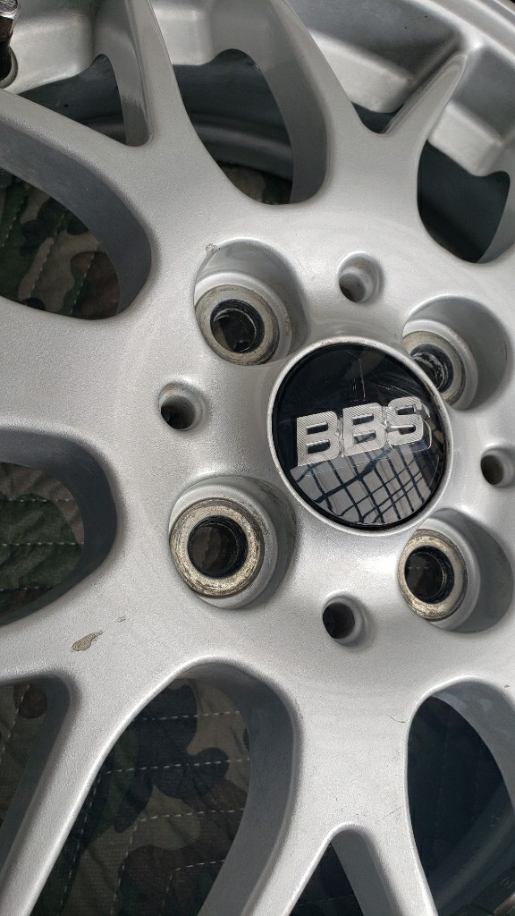 BBS RX280 15インチ 4.5J +45 PCD 100 リペア補修
