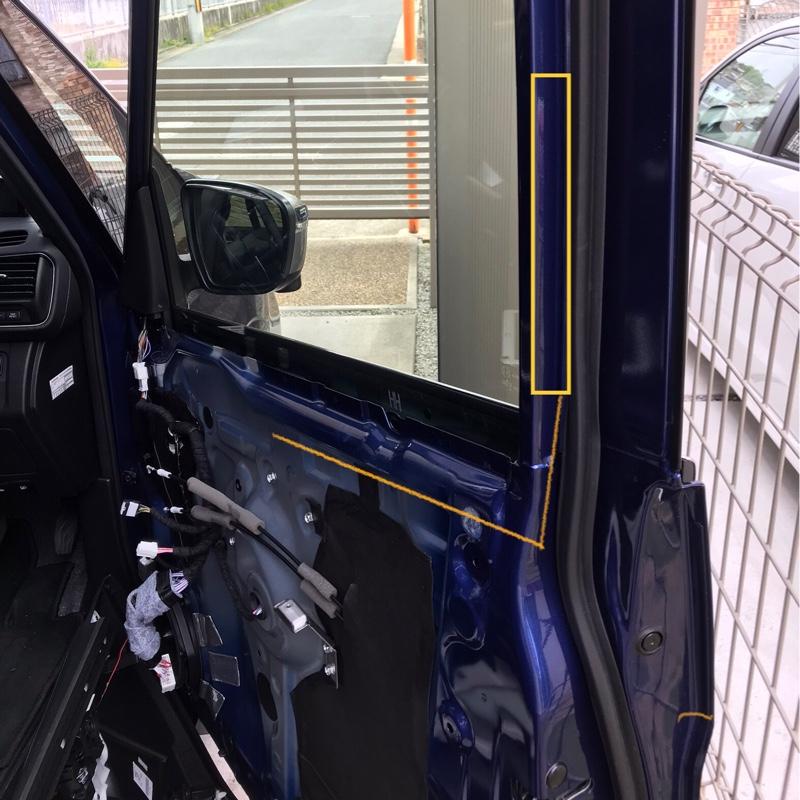 運転席ドア セーフティイルミLED 取り付け