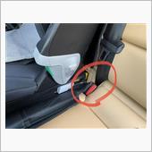 XC40 シートベルトバックルの画像