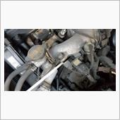 エンジンオイル、フィルター交換。