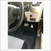 カーメイト 車用 ペダル RAZO アルミ&ラバーペダル コンパクト の画像