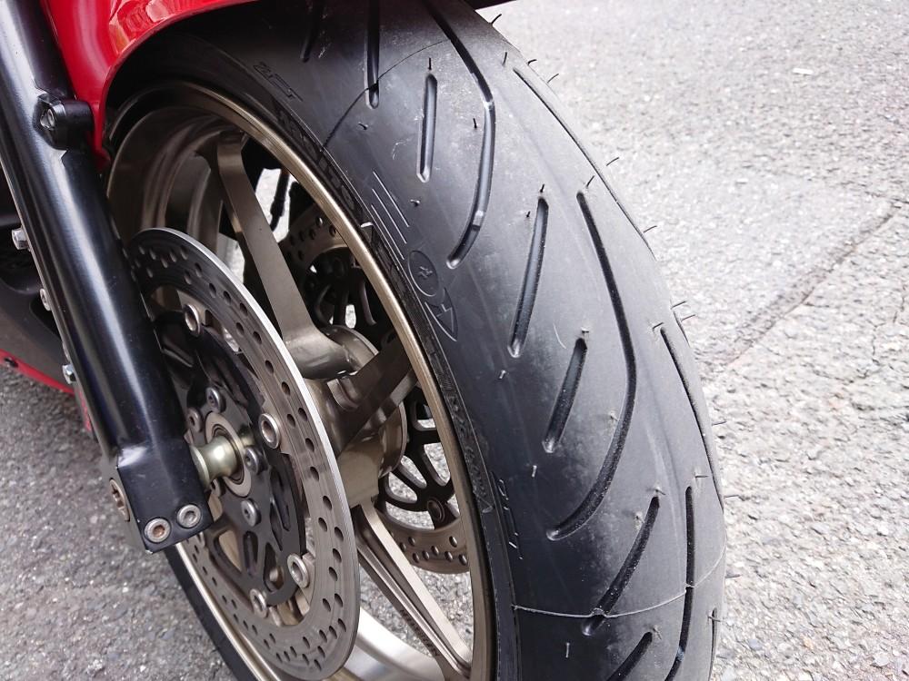 前後タイヤ交換