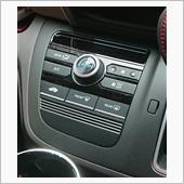 AP エアコンパネルステッカー カーボン調 貼り付けの画像