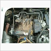 エアクリーナーボックス留め金修理の画像