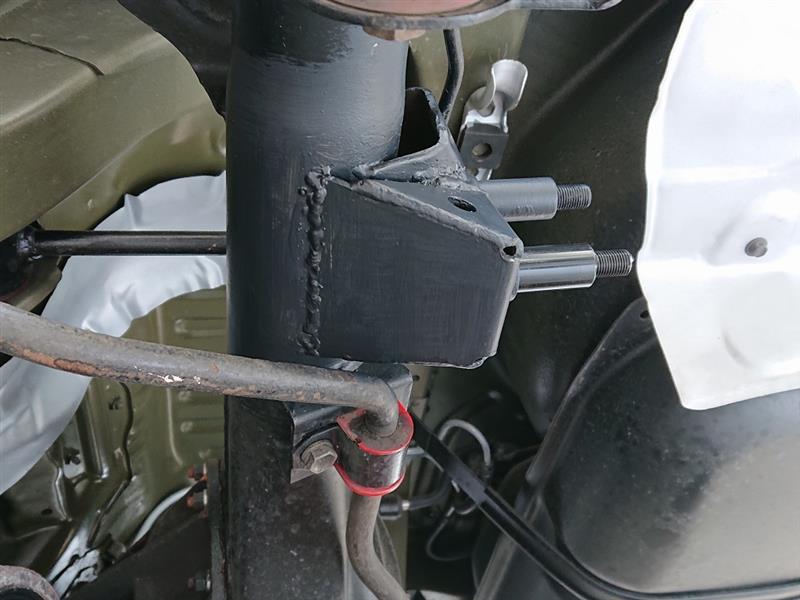 続AE86制作プロジェクト205~リヤスプリング、ショック交換、ロールセンターアジャスター取付け4