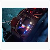 自作シフトパネルインジケーターled色変更☺️の画像