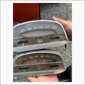 修理なったスピードメーターに交換の画像