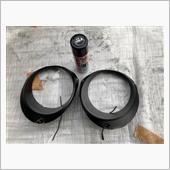 ヘッドライト インナーブラック塗装の画像