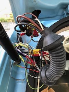 リアゲート配線修理