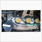 HA23V アルト イグニッションコイル アルミ缶取付 DIYの画像