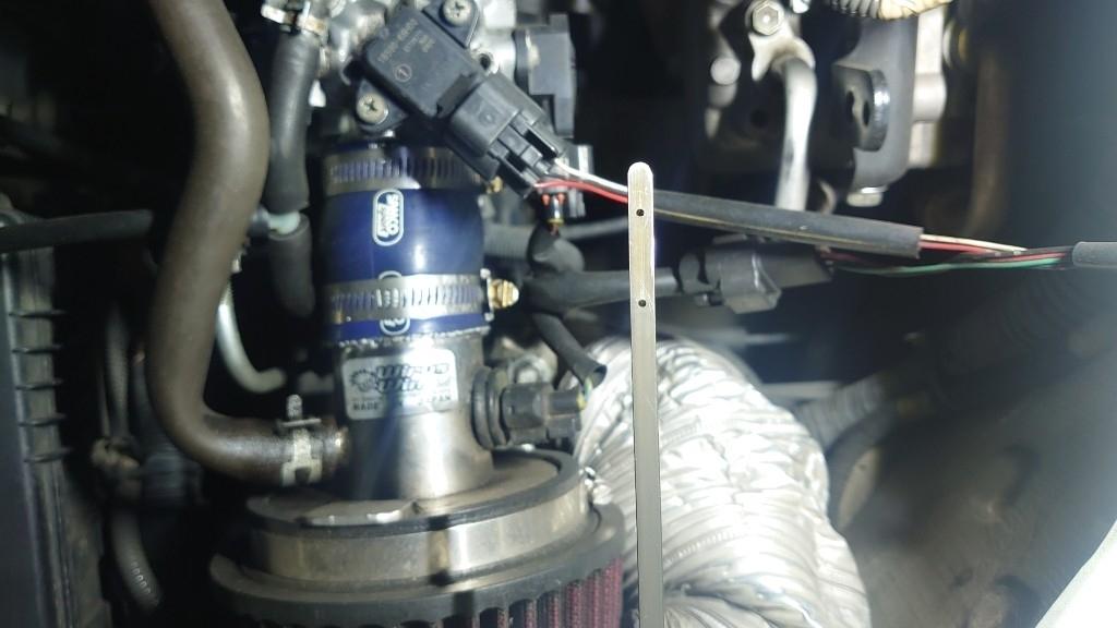エンジンオイル交換ループ注入