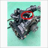 3回目の車検で冷却系多数交換。の画像