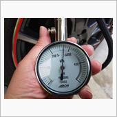 タイヤ内圧点検・調整の画像