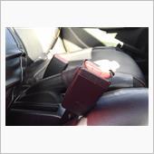 シートベルトバックル交換の画像