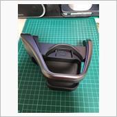 ドリンクホルダーのカーボン柄化の画像