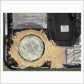 インテリアパネルの再補強の画像