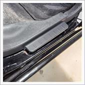 後部座席、運転席側のステップカバーサビ補修の画像