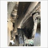 フレームの亀裂の画像