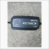CTEK バッテリーチャージャー MXS7.0JP コネクタ取り付け&充電の画像