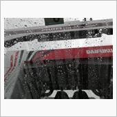雨の止み間に洗車しました。の画像