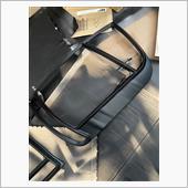 テールランプガーニッシュ マットブラック塗装の画像