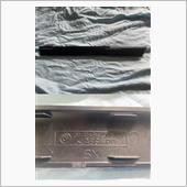 ②E46後期純正インテリアパネル(ブラックメタリック)の画像