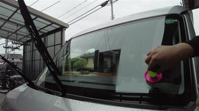 梅雨対策でガラス周り交換&施工