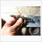 解体から復元の為ボディマウントのボルト制作の画像