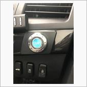 三菱純正オプション エンジンスタートスイッチ取り付け(その4)の画像
