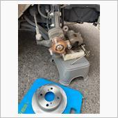 ブレーキパッド、ローター交換の画像