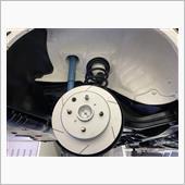 ブレーキローター交換の画像