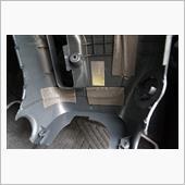 コラムカバー アルミテープ貼付の画像