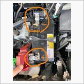 バッテリー端子交換の画像