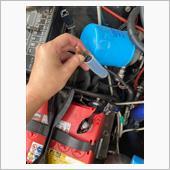 バッテリープラス端子交換の画像
