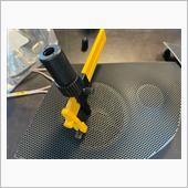ツイーターカバー加工、ツイーター装着の画像
