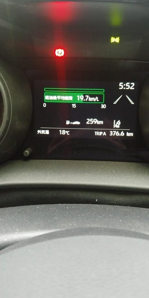 燃費管理に試行錯誤