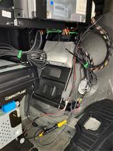 B7スーパーチャージ バックカメラ取り付け完了のカスタム手順2