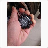 トールカスタムM900S タイヤ空気圧確認&調整