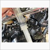 SDR200 始動不良、キャブレターの油面調整