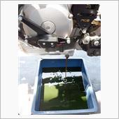 エンジンオイル交換とプレオイリングとブレーキフルード交換