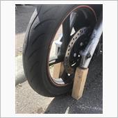 タイヤ外しカラーとベアリング