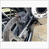 ブレーキ鳴きの修理の画像